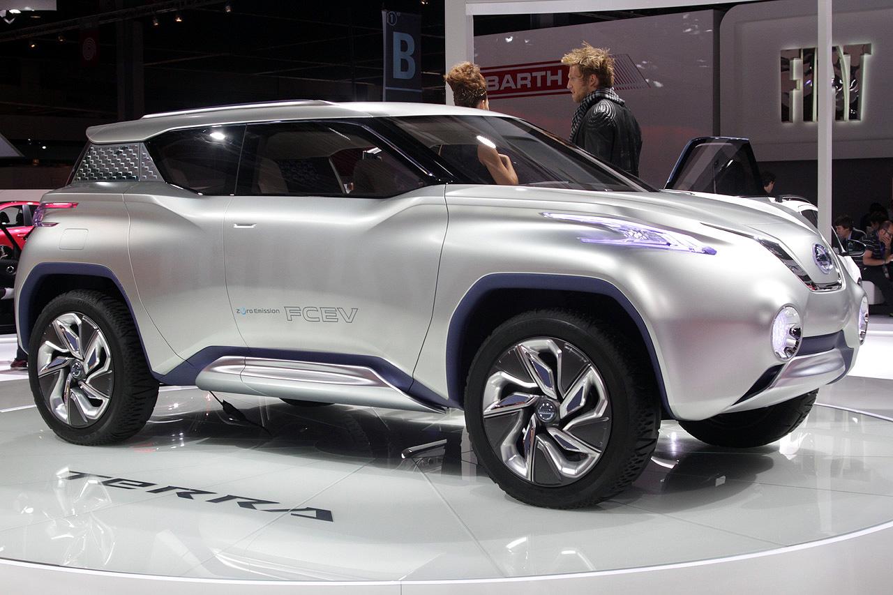 Nissan Terra — новый кроссовер на электричестве?