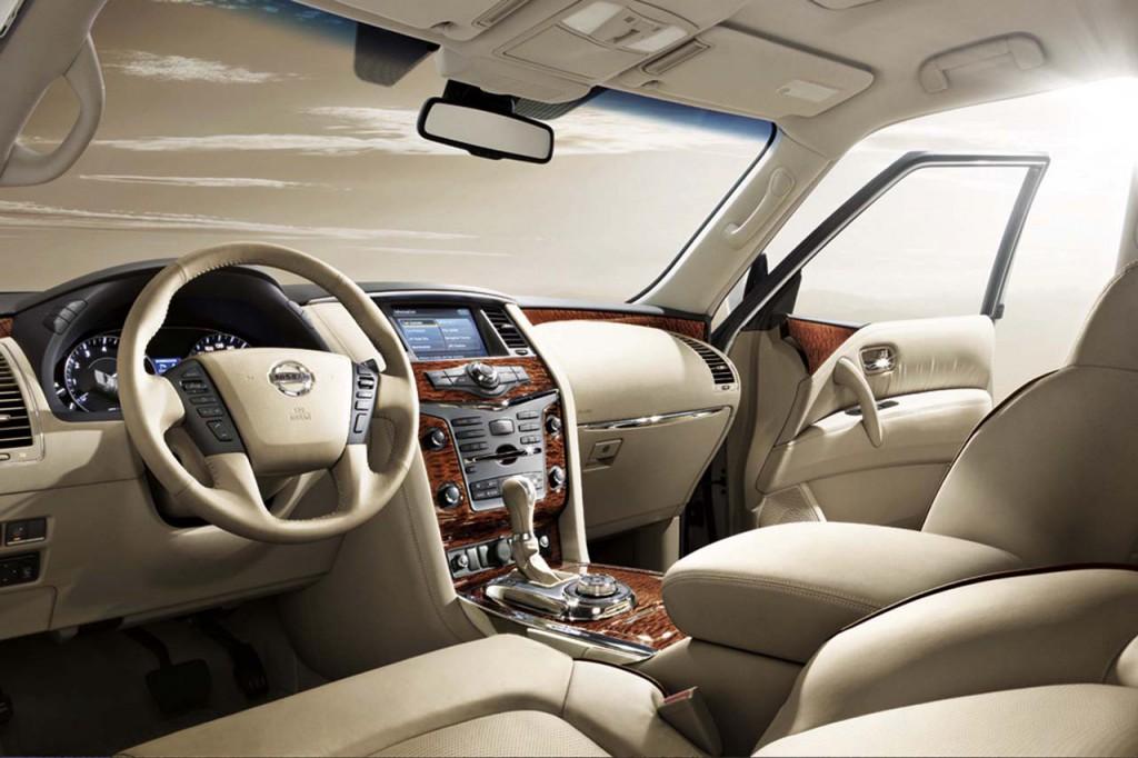 Nissan Patrol Y62 салон