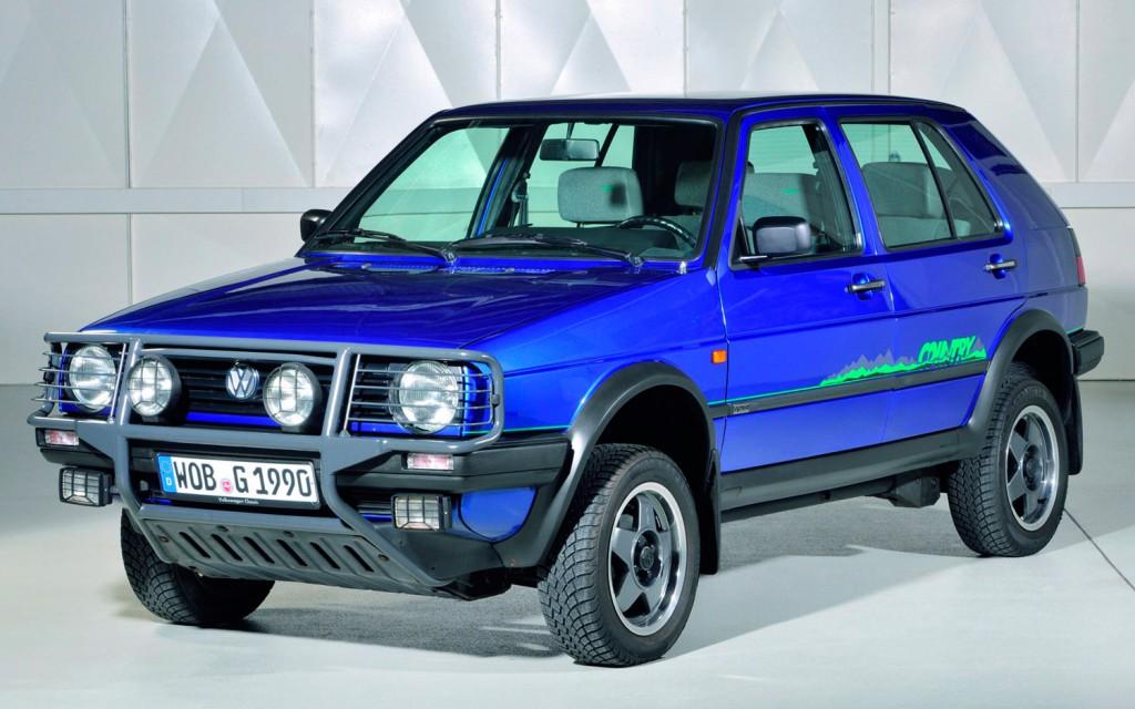 Volkswagen Golf Country 1990jpg