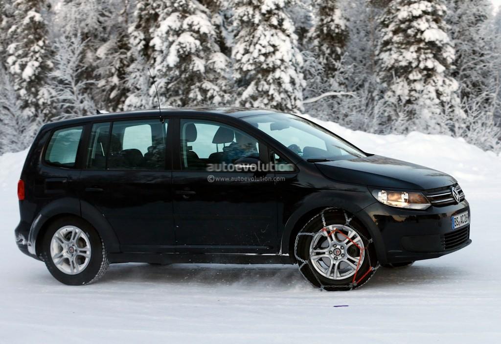 Новейший Volkswagen Tiguan замечен на ранних ...