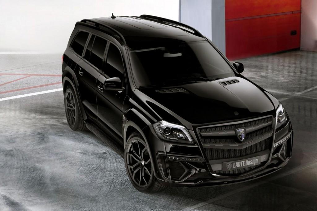 Mercedes GL Black Crystal 01