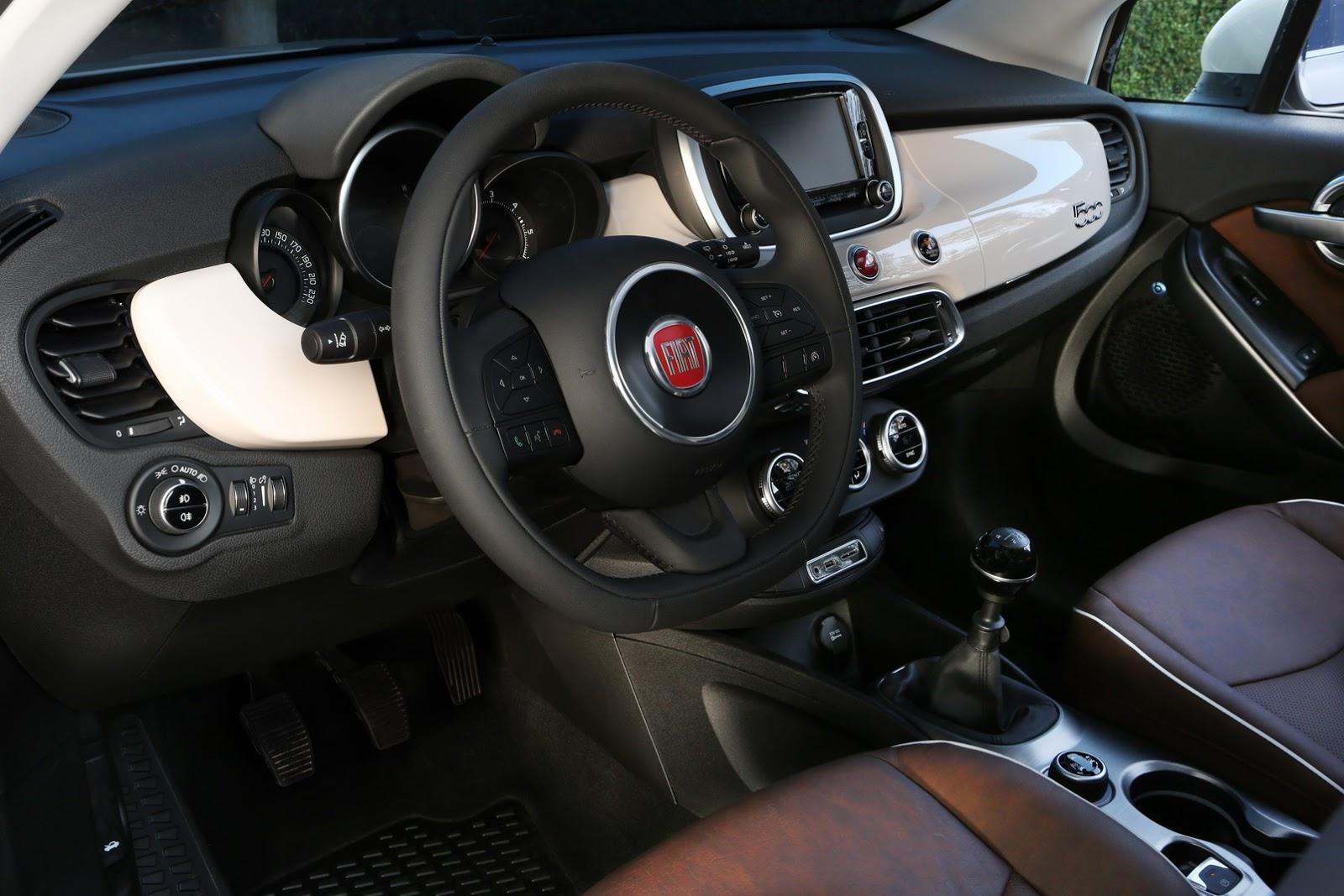 Новые официальные фотографии кроссовера Fiat 500X