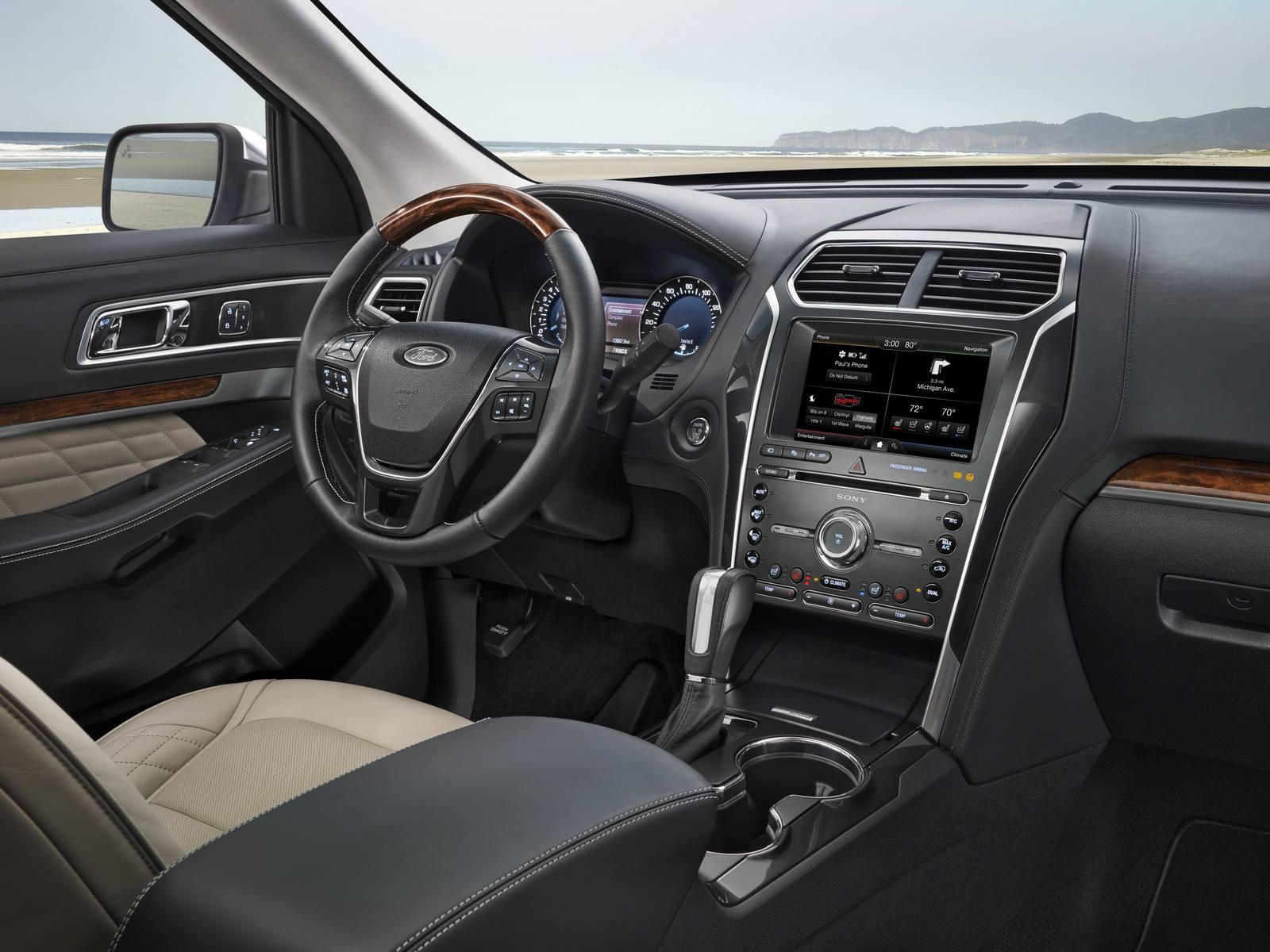 фото нового форд эксплорер 2016