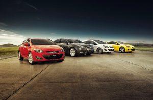 Opel lineup