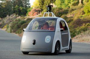 Google autonomous pod