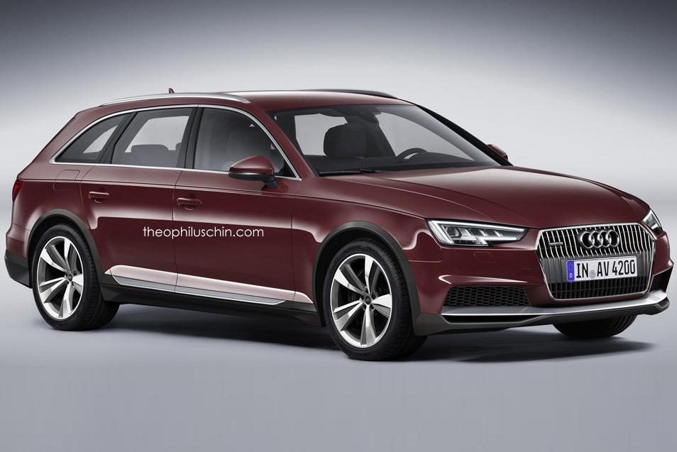 Каким может быть новый Audi A4 Allroad