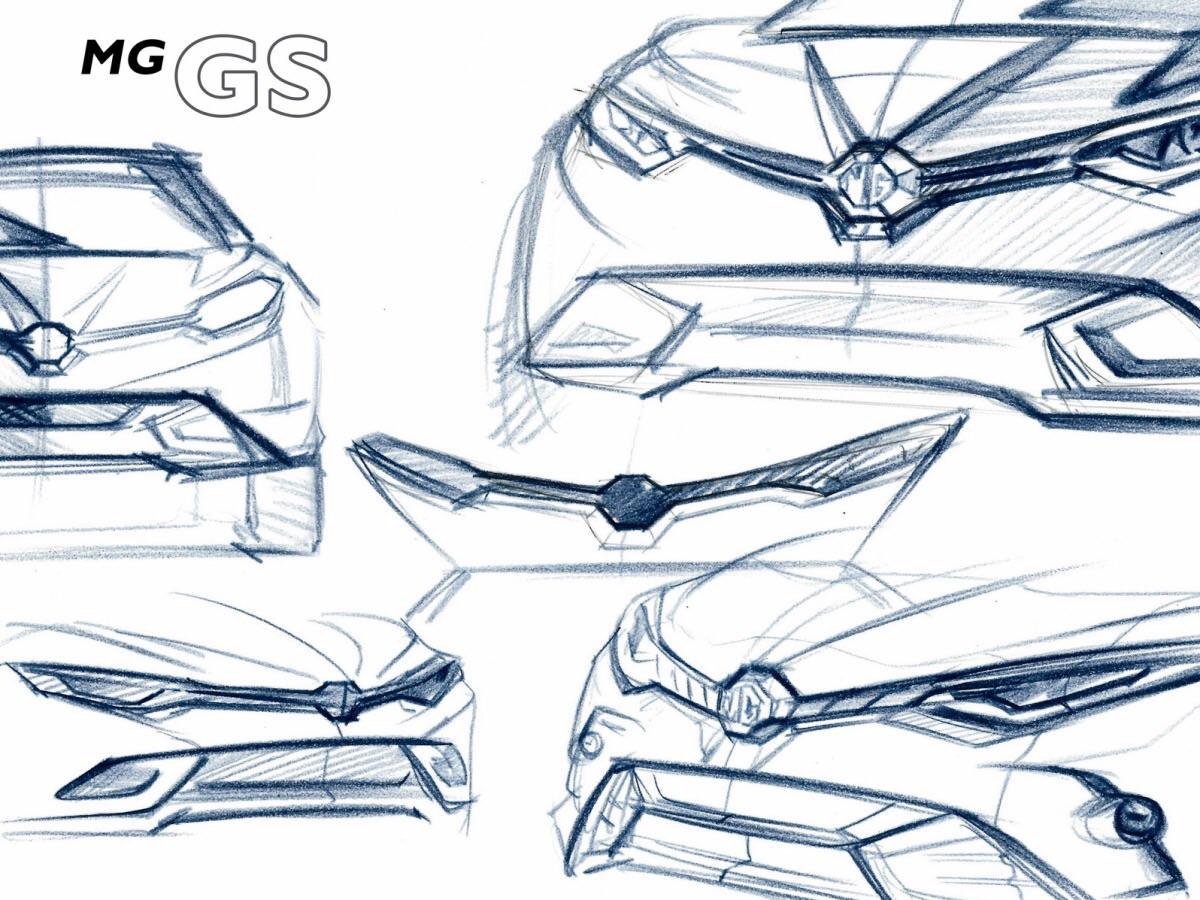 Китайский кроссовер MG GS будут продавать в Европе