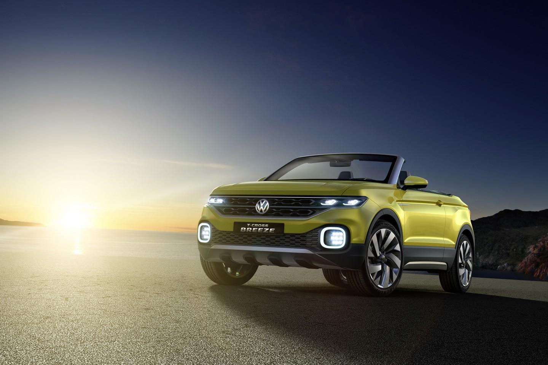 Субкомпактный кроссовер VW T-Cross представят в 2018-ом году