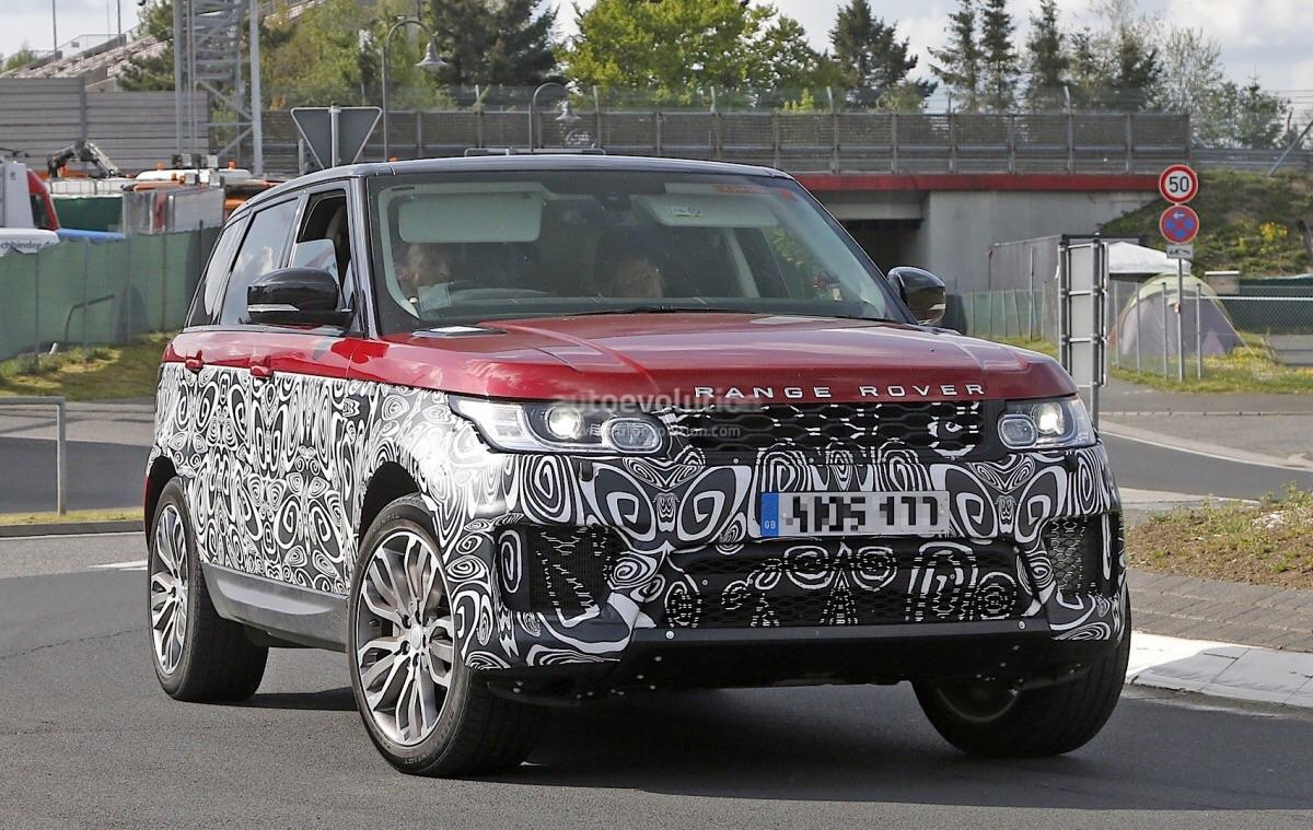 Улучшенный Range Rover Sport отправят наконвейер всамом начале последующе ...