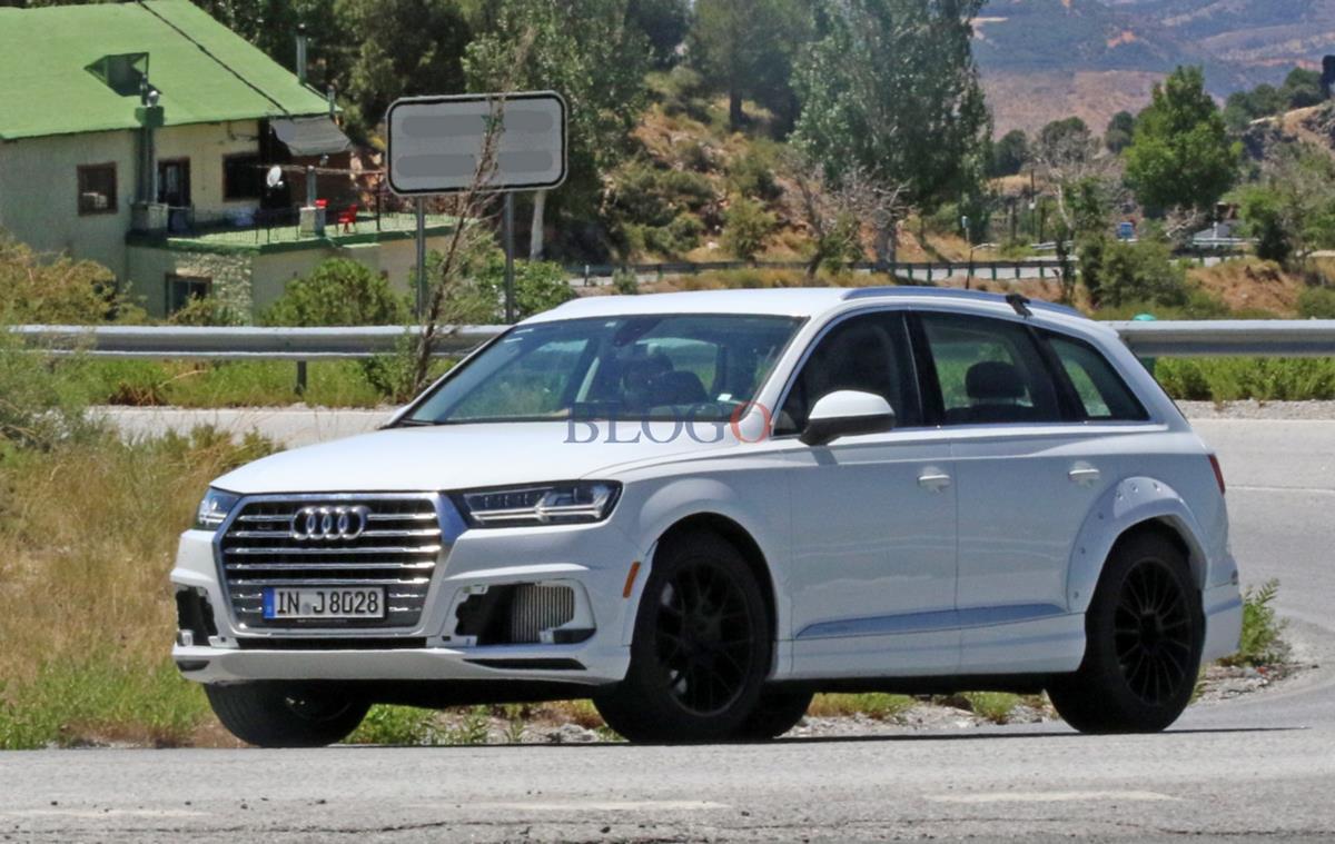 Люксовая модель Audi Q8 вышла на испытания