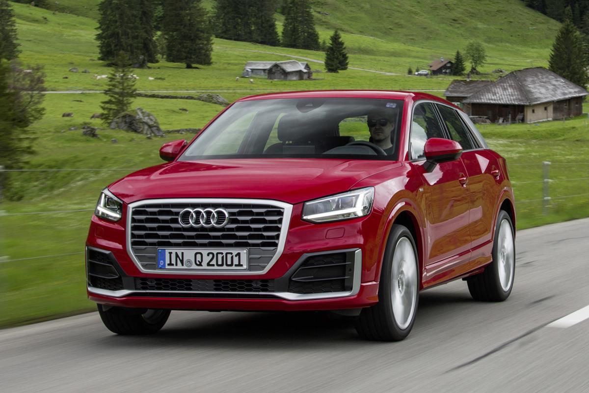 Audi Q2 — фотогалерея тест-драйва