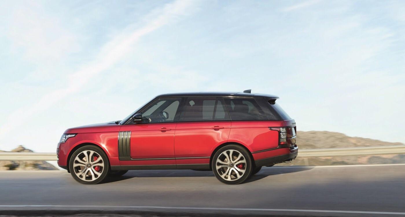 Range Rover 2017 модельного года получил мотор от Ягуар  F-Type