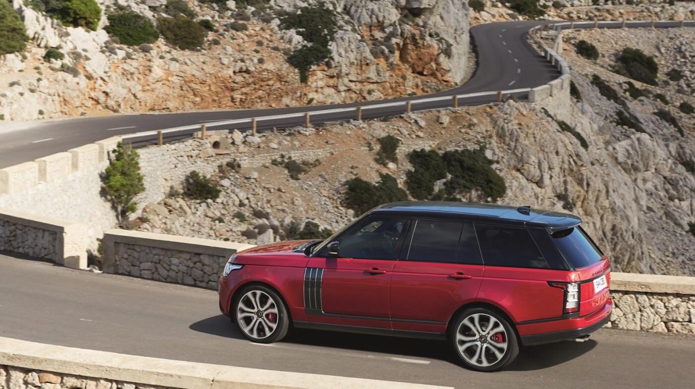 Джип Range Rover стал роскошнее