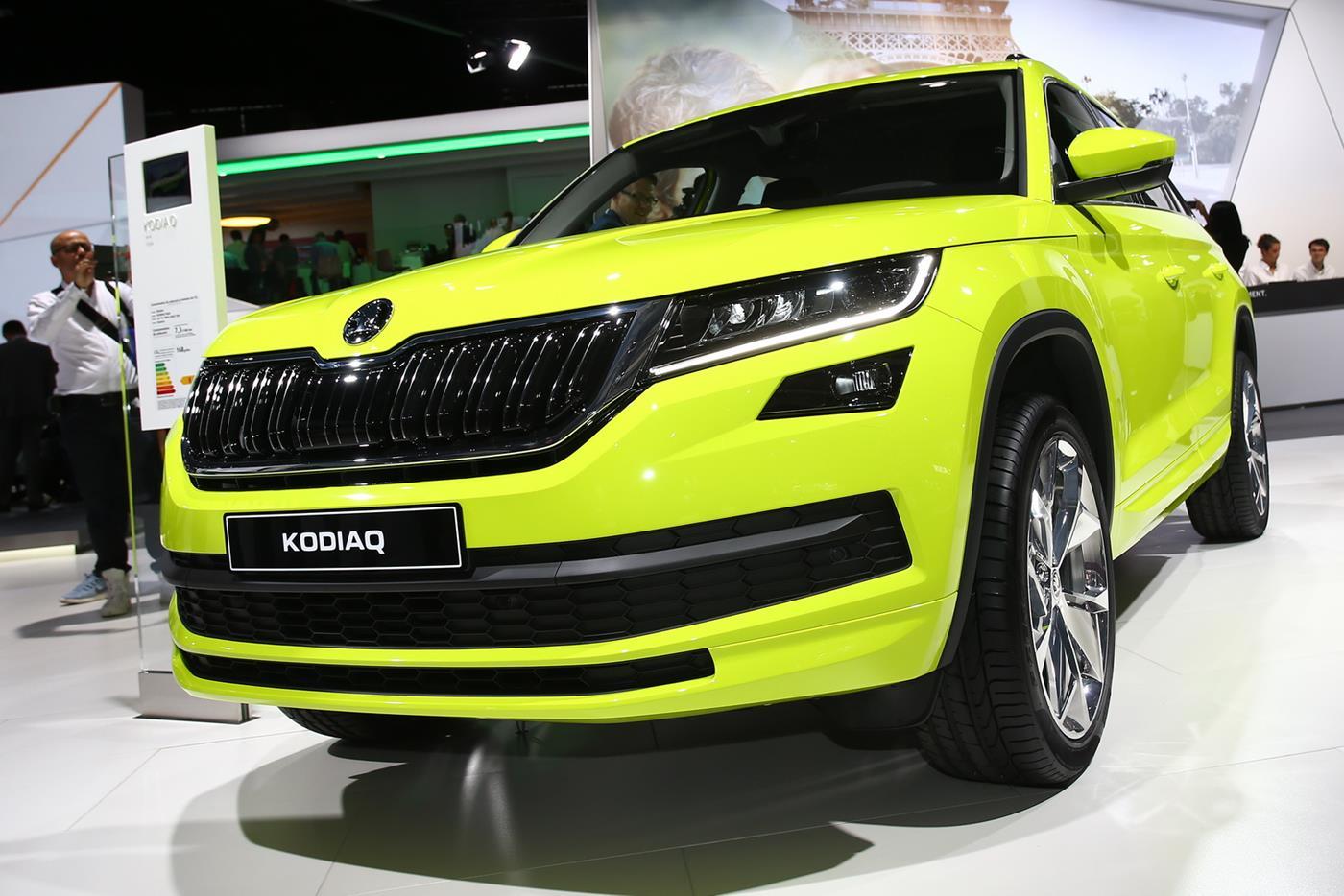 Škoda назвала цену нового кроссовера Kodiaq