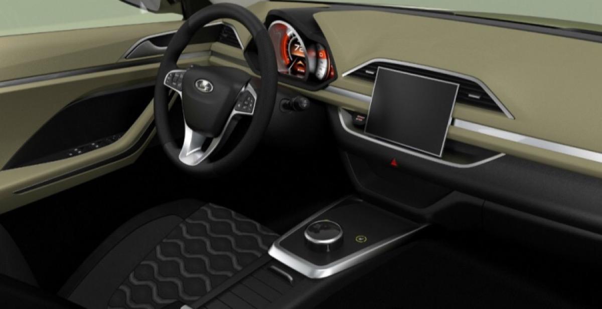 Волжский автомобильный завод продемонстрировал 1-ый снимок салона Лада XCODE