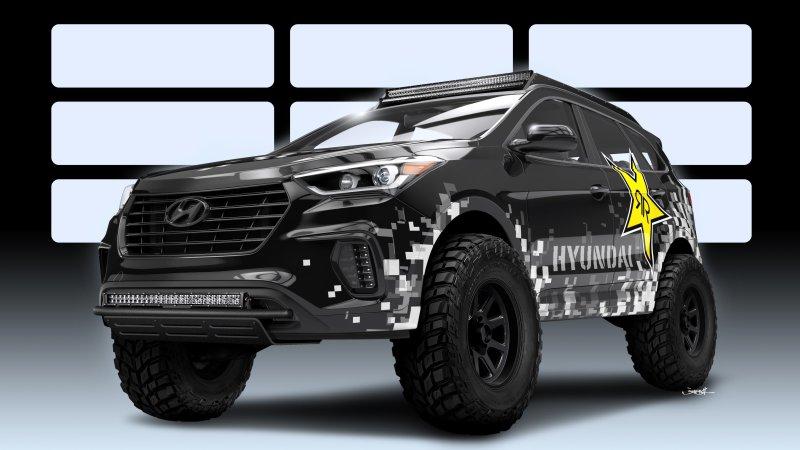 Hyundai-Rockstar-sema-Santa-Fe