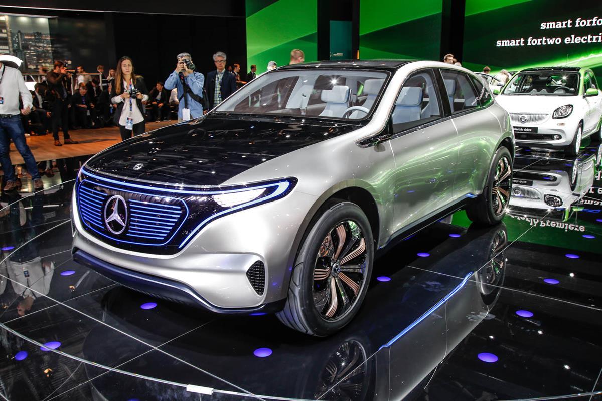 Электрический Mercedes-Benz EQC можно заказать уже сейчас