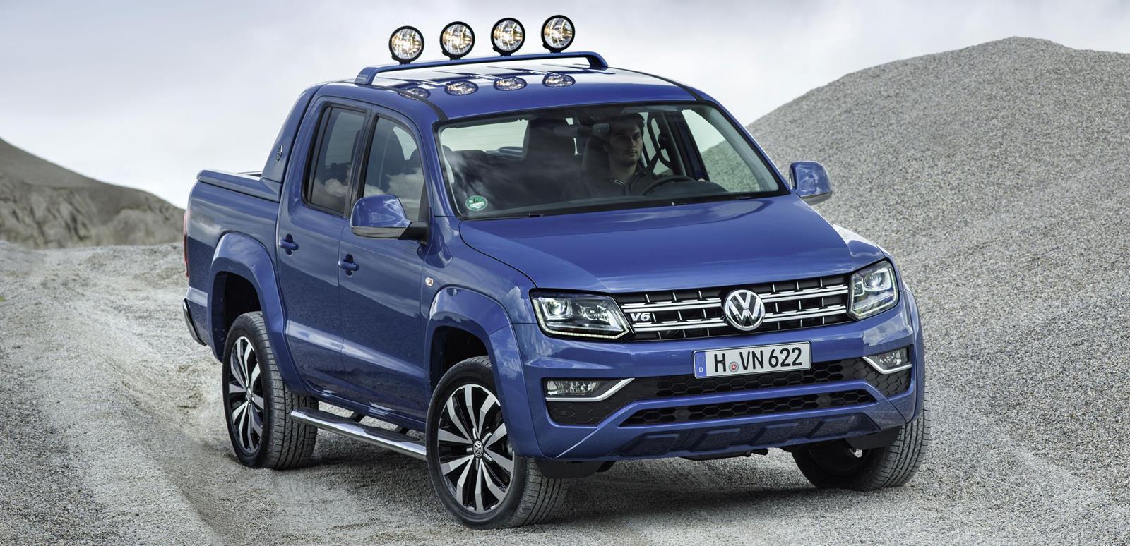 Volkswagen Amarok 2016 — фотогалерея