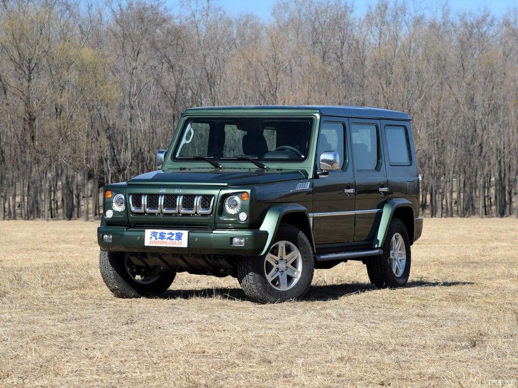 Компания Beijing Auto выпустила модель BJ80 на рынок КНР