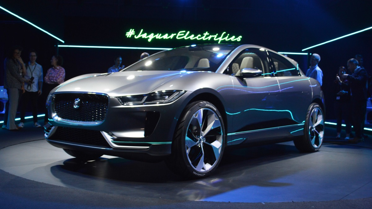 Электрический Jaguar I-Pace встал на конвейер
