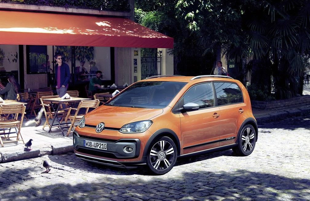 VW Cross Up! начали торговать вевропейских странах