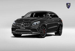 LARTE GLE AMG coupe black front_01