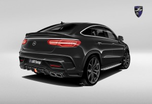 LARTE GLE AMG coupe black rear_01
