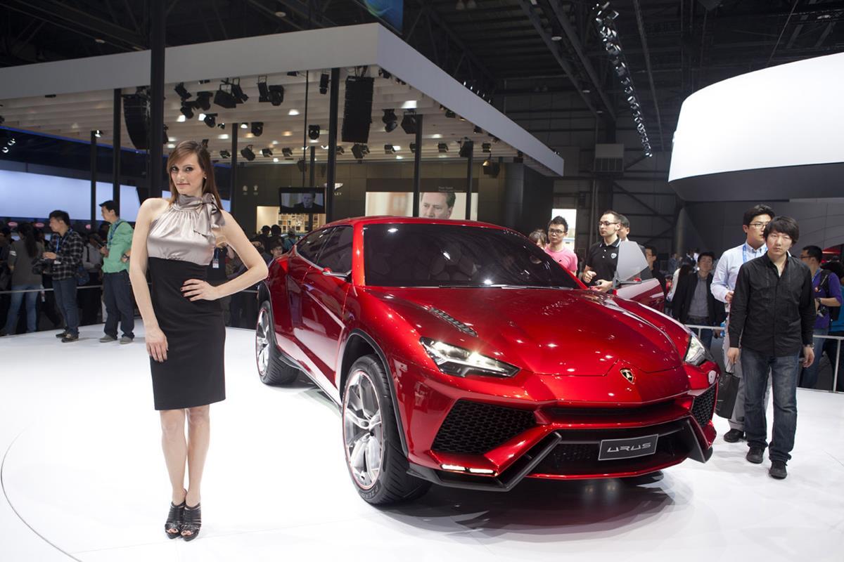 Кроссовер Urus будет единственным гибридом Lamborghini
