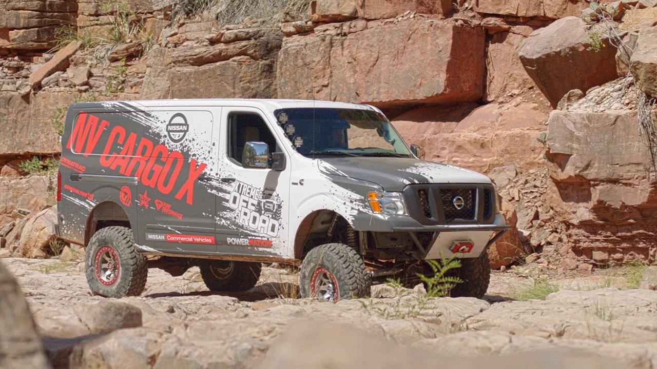 Ниссан построила коммерческий фургон для доставок «куда угодно»