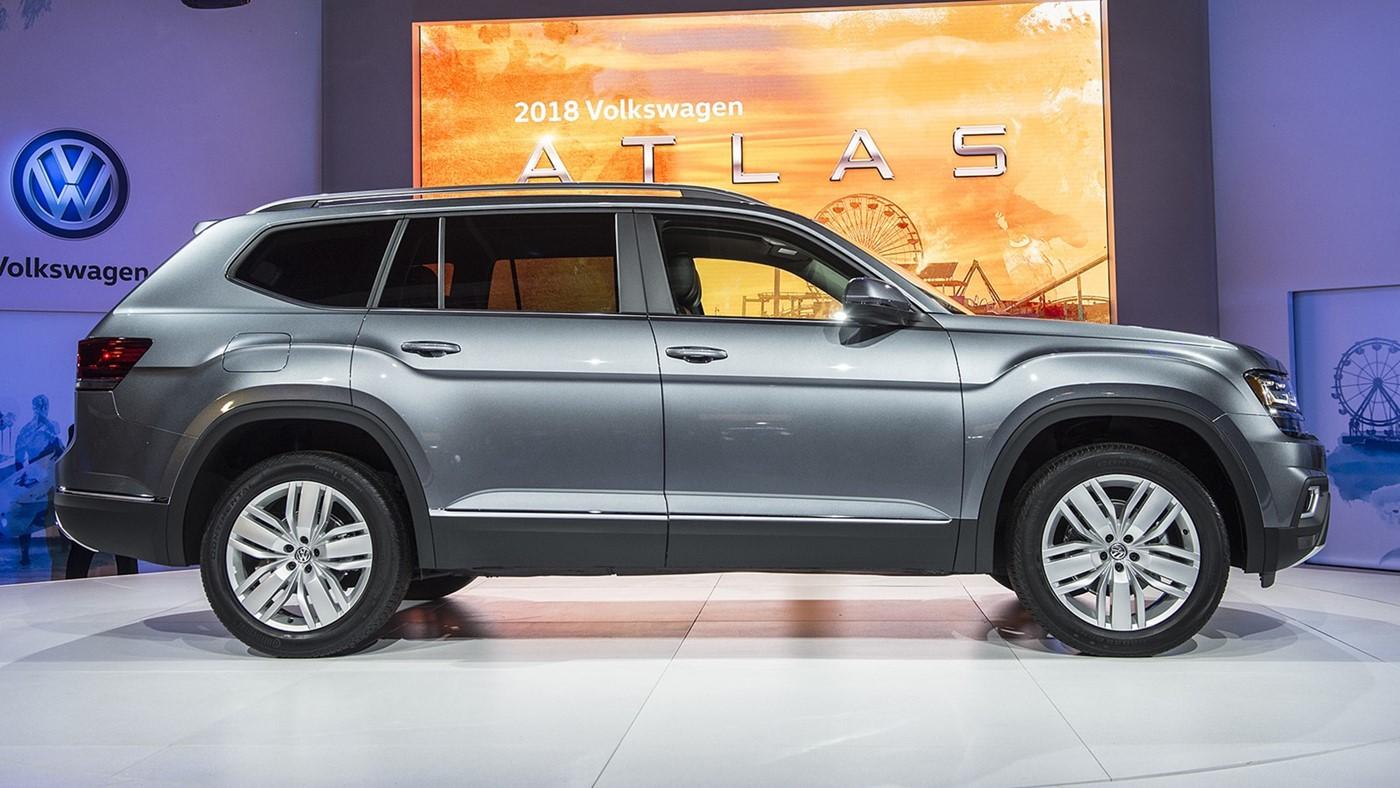 ВСеть попали фото укороченного SUV Фольксваген Atlas Sport для США