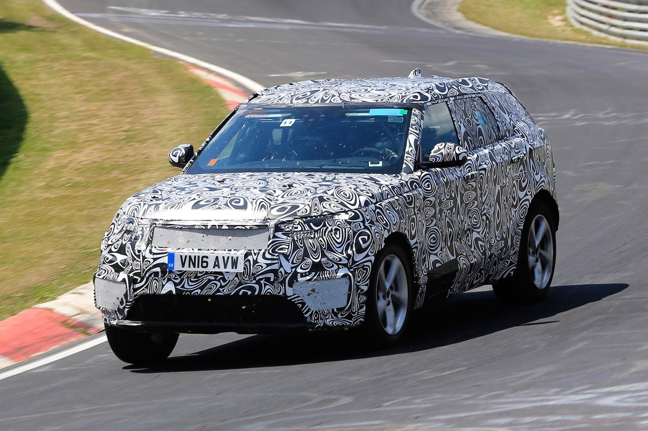 Появились сведения оновом Range Rover Velar 2017 года