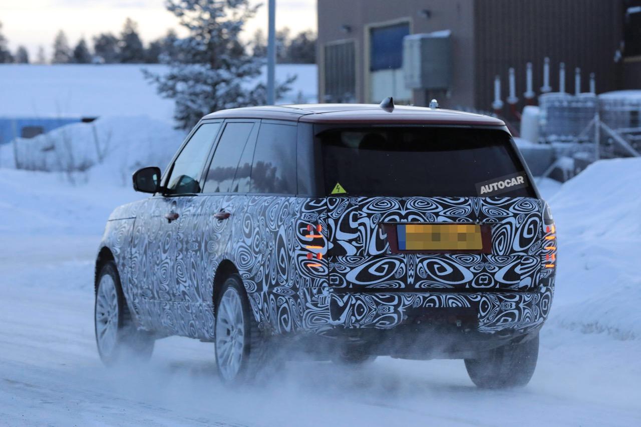 Гибридный Range Rover 2018 получит абсолютно  новейшую  силовую установку