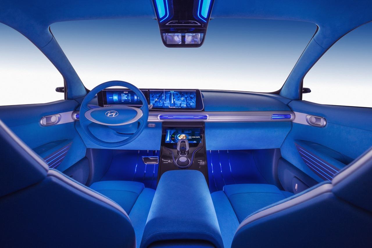 Хюндай продемонстрировал водородный кроссовер FeFuel Cell Concept