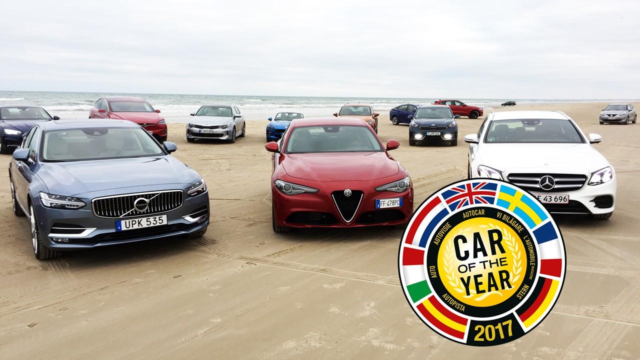 Объявлен победитель премии «Автомобиль года вЕвропе-2017»