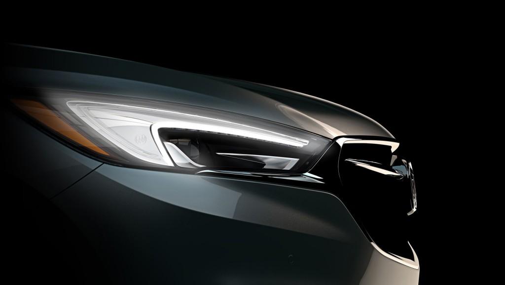 Buick обнародовал первое изображение Enclave обновленного поколения