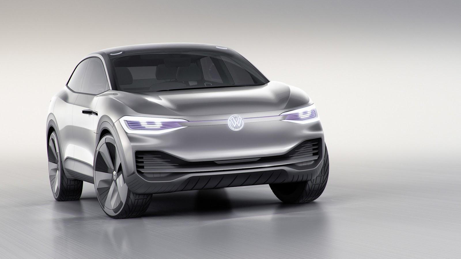 Volkswagen I.D. Crozz продолжил парад электро-кроссоверов в Шанхае