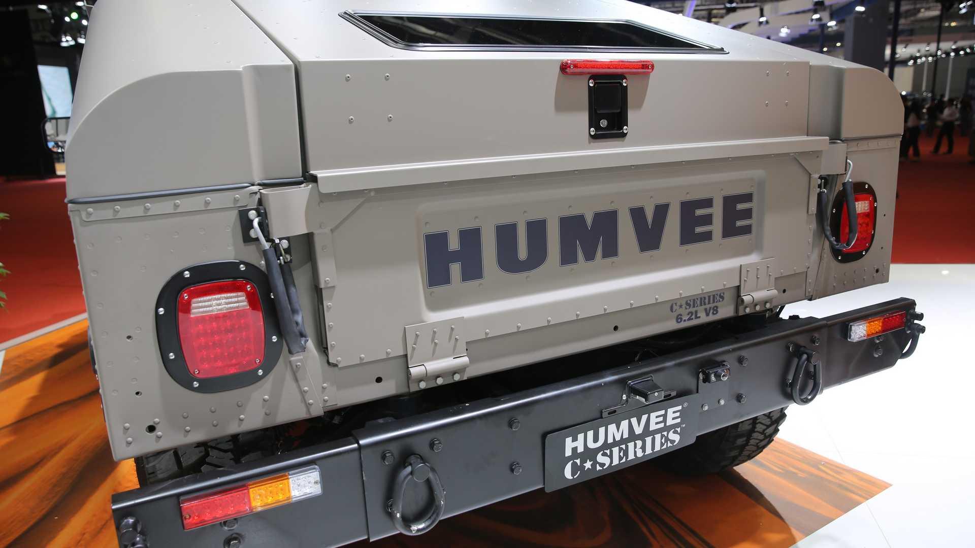 Жители Америки возродили Hummer H1 в«Поднебесной»