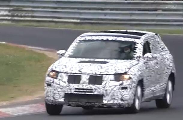 VW тестирует новый кроссовер T-Cross набазе Polo