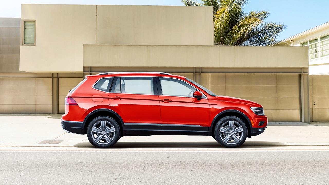 Стали известны цены нановый VW  Tiguan