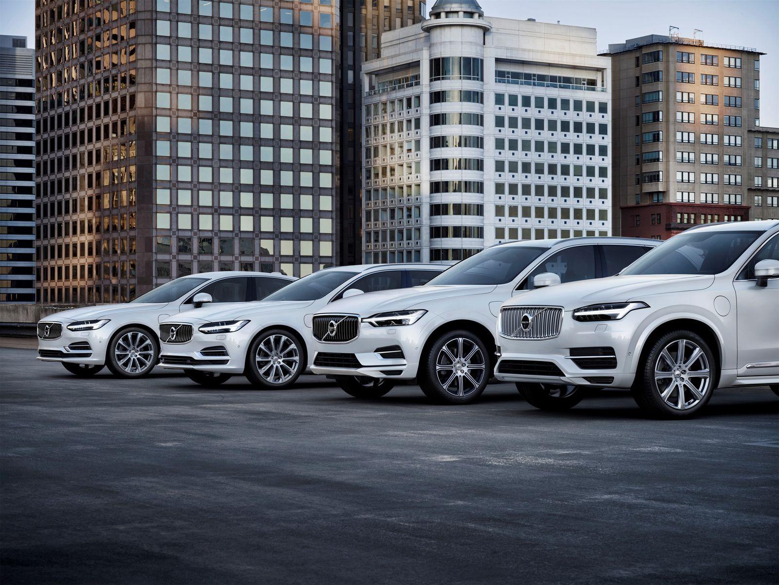 Volvo полностью электрифицируется с 2019 года