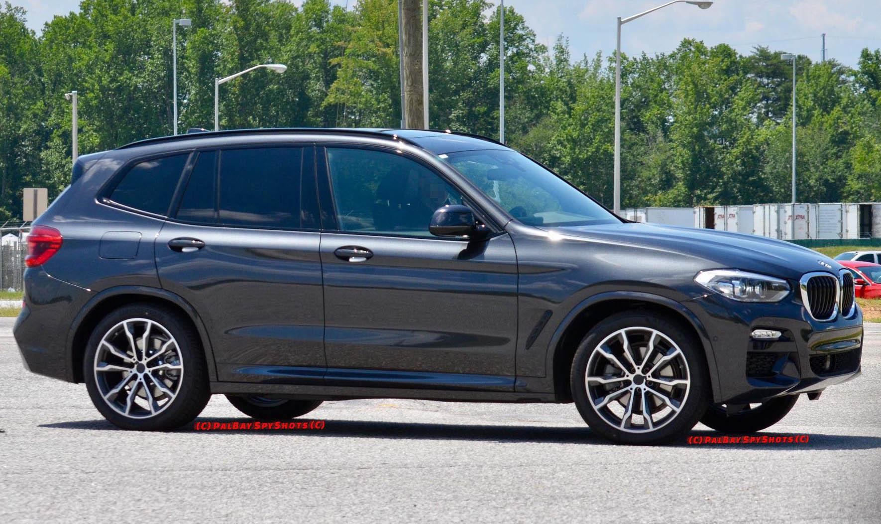 БМВ Х3 в новом кузове заметили с пакетом М Спорт - фото: http://allroader.ru/bmw-x3-2018-m-sport-58758-2/