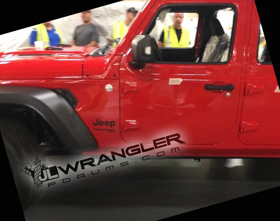 Новый Jeep Wrangler Unlimited запущен всерийное производство