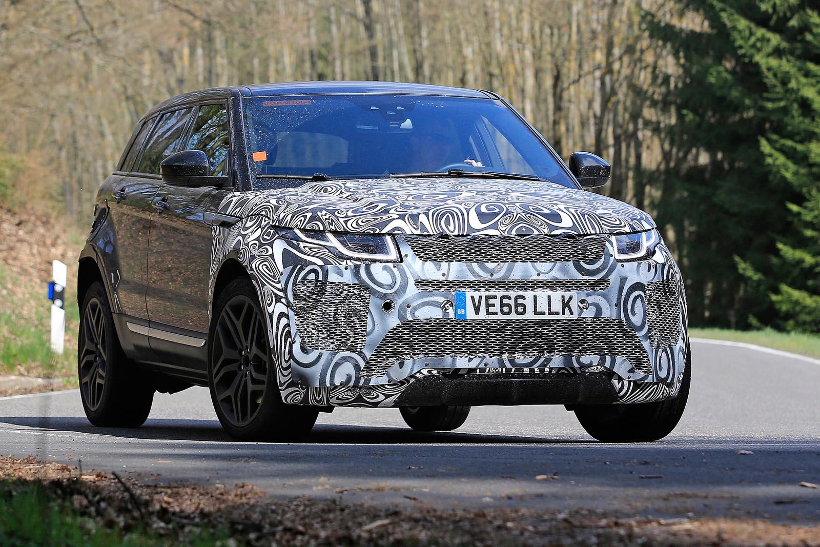 Новый Range Rover Evoque— ожидать недолго