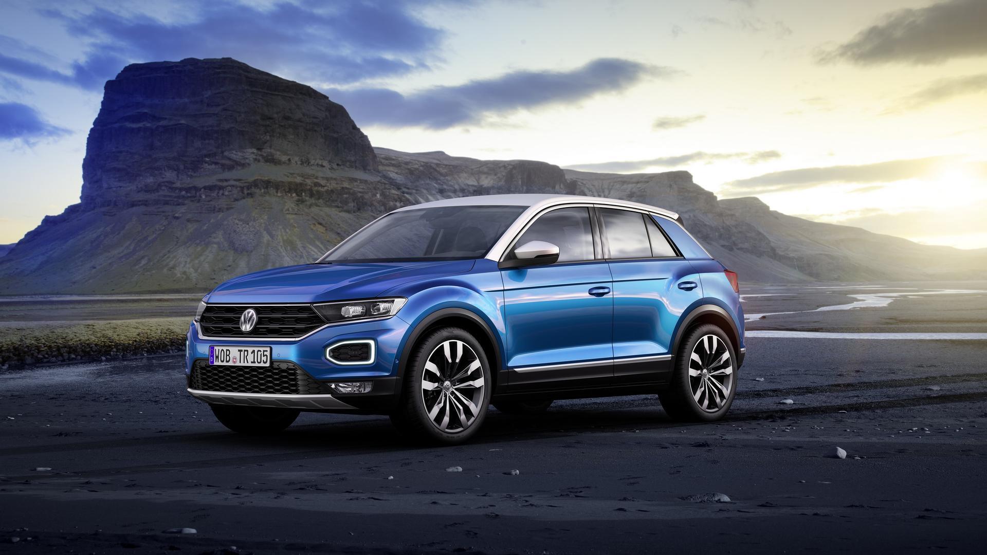 VW выпустит новый кабриолет набазе кроссовера T-Roc