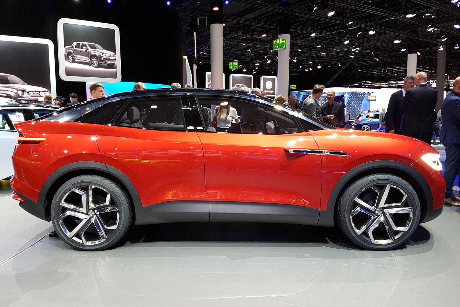 Volkswagen познакомил с I.D.Crozz II