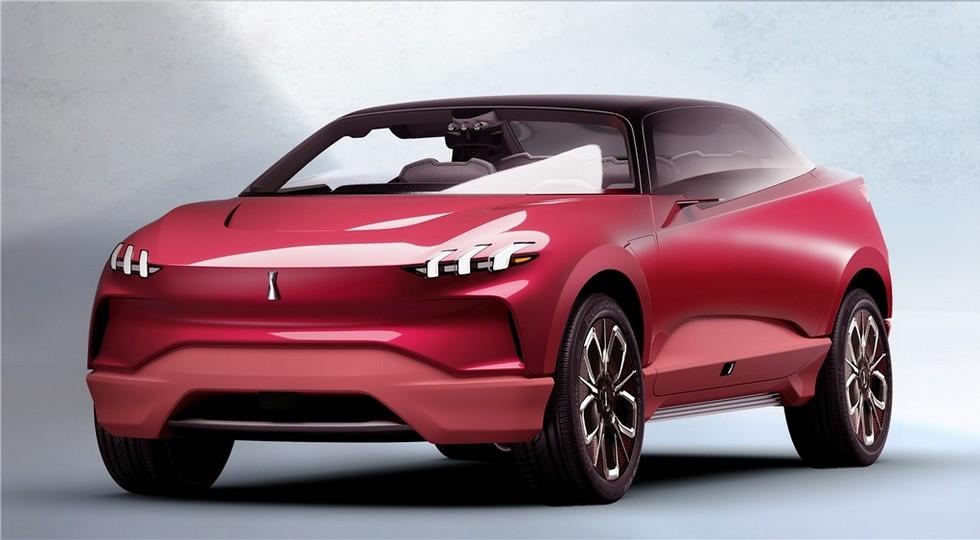 ВоФранкфурте представили китайскую копию Tesla X концептуальный автомобиль Wey XEV