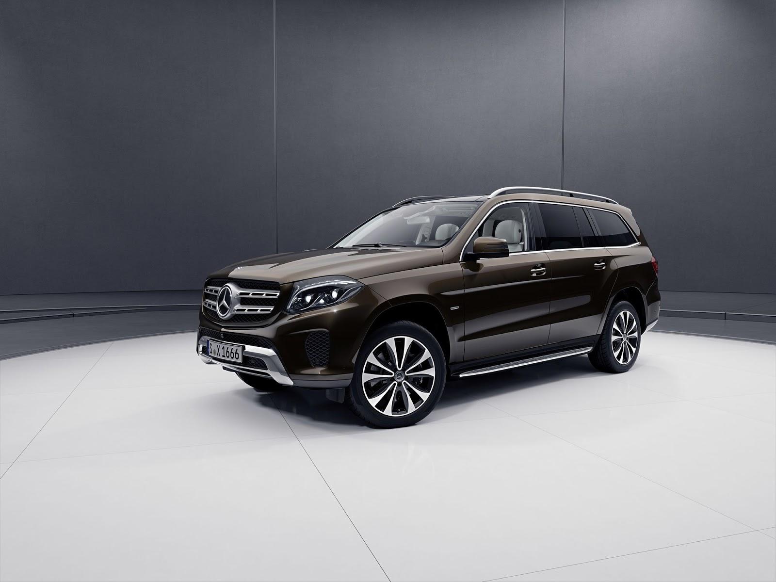 Benz GLS Grand Edition стал роскошнее