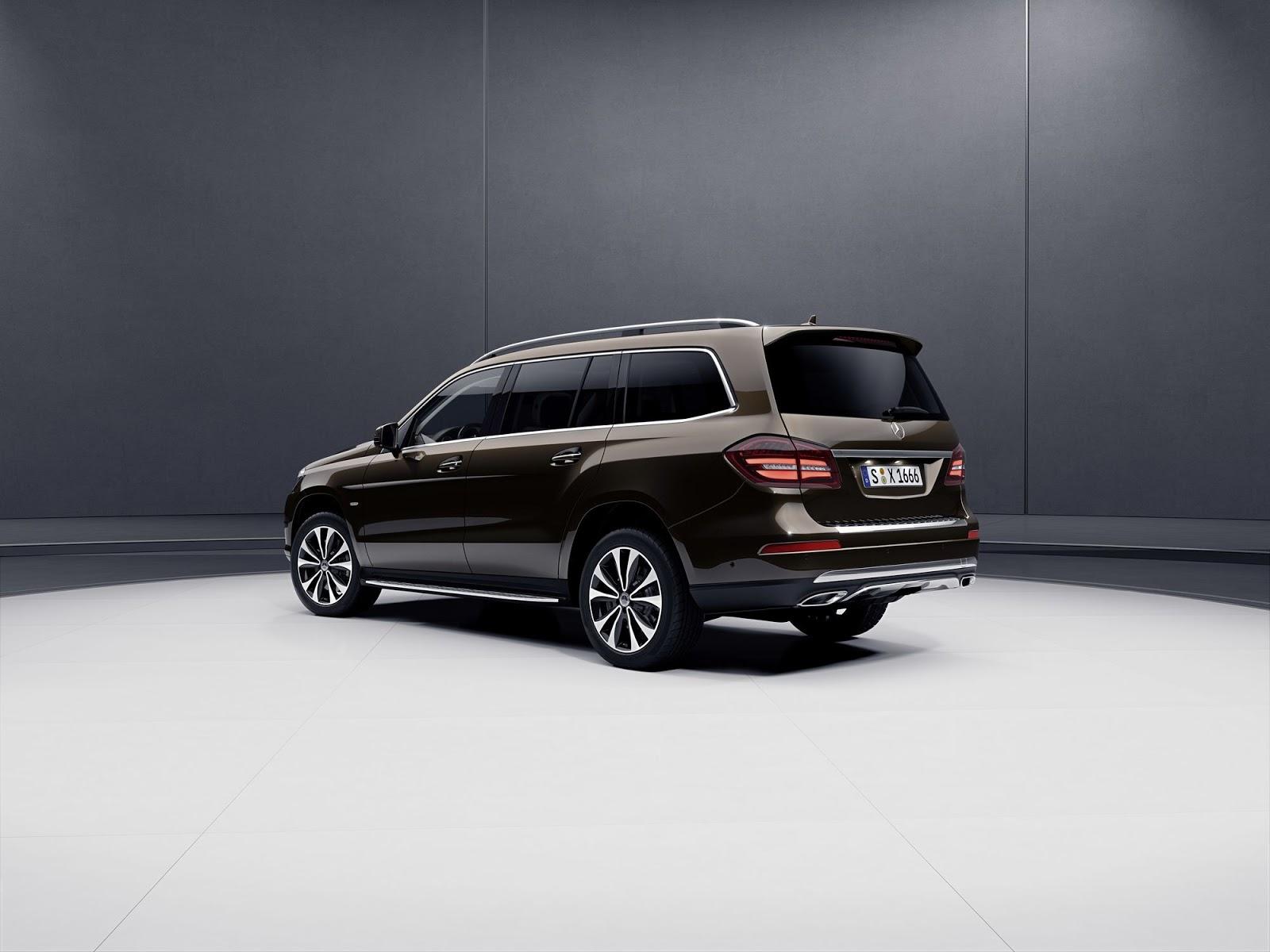 Mercedes представил версию Grand Edition Мерседес-Бенс GLS