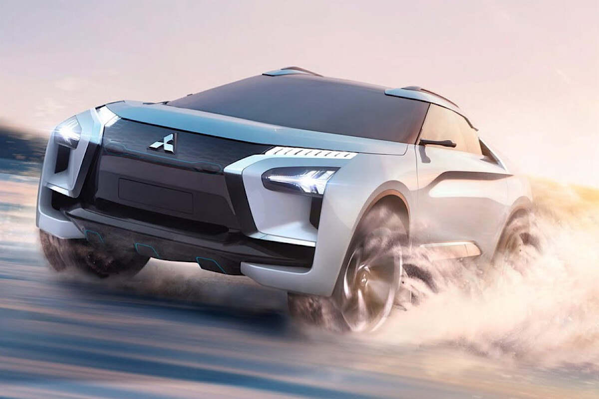 Концепт Mitsubishi e-Evolution как предвестник EVO-кросса