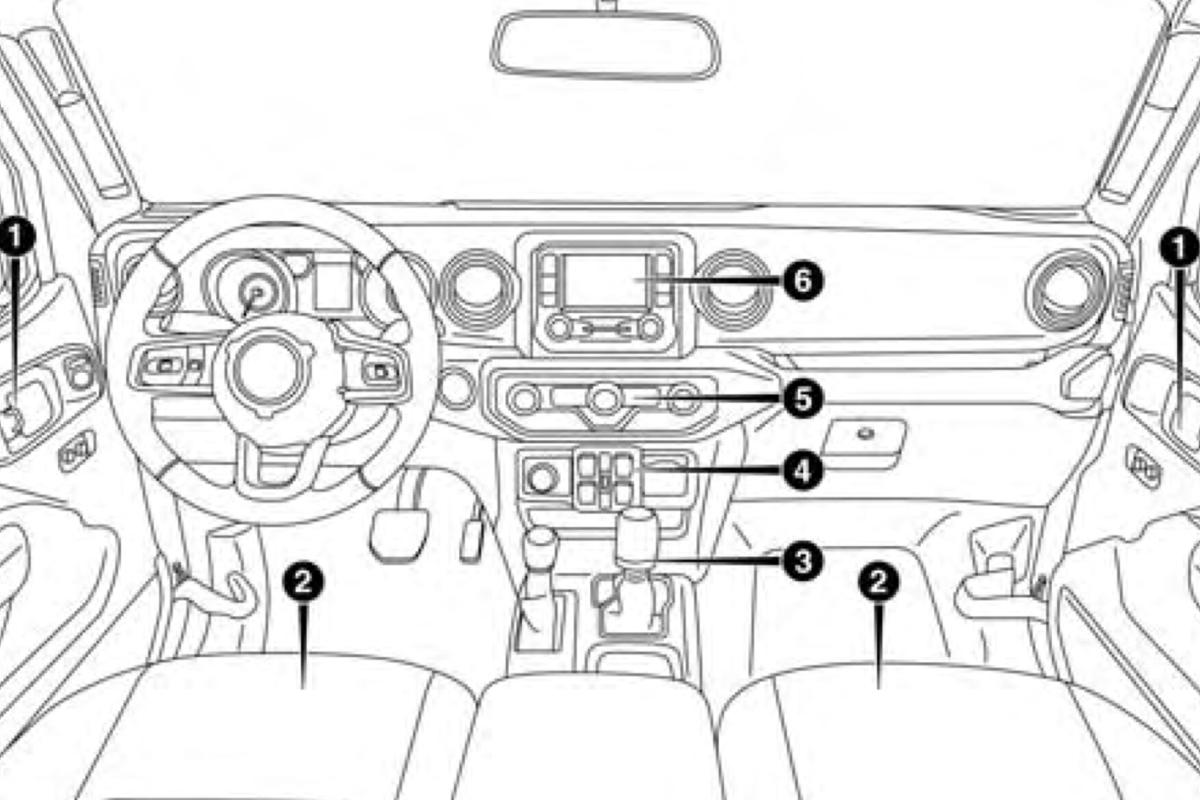Вweb-сети появилось руководство пользования нового Jeep Wrangler